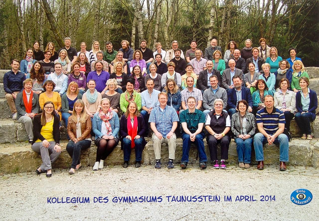 Das Kollegium des Gymnasiums Taunusstein 2014
